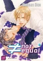 ≠ not equal T.2 Manga