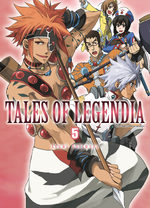 Tales of Legendia 5 Manga