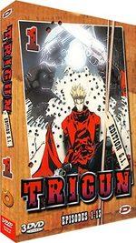 couverture, jaquette Trigun SIMPLE  -  VO/VF 1