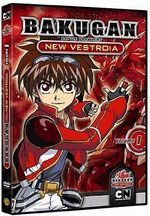 Bakugan Battle Brawlers : New Vestroia 1 Série TV animée