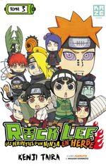 Rock Lee - Les péripéties d'un ninja en herbe 3