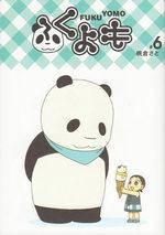 Pan'Pan Panda, une vie en douceur 6 Manga