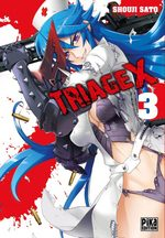 Triage X 3 Manga