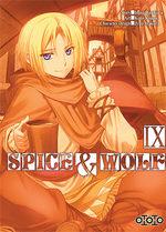 Spice and Wolf T.9 Manga