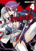 Triage X 4 Manga