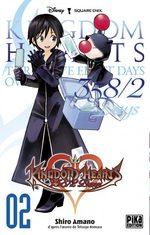 couverture, jaquette Kingdom Hearts 358/2 Days 2
