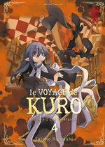 couverture, jaquette Le Voyage de Kuro 4