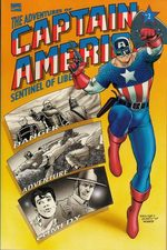 The adventures of Captain America - Sentinel of liberty # 2