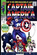 Captain America # 100