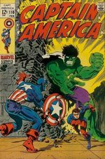 Captain America # 110