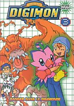 Digimon 3 Anime comics