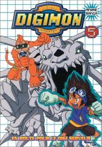 Digimon 5 Anime comics
