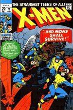 Uncanny X-Men 70