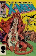 Uncanny X-Men 187