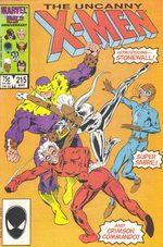 Uncanny X-Men 215