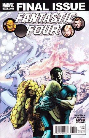Fantastic Four # 588 Issues V1 Suite (2003 - 2011)