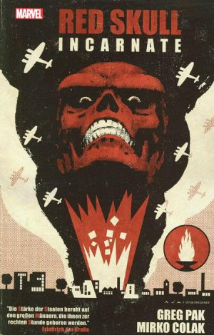 Red Skull - Incarné édition TPB hardcover