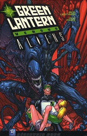 Green Lantern vs Aliens édition TPB hardcover (2007)