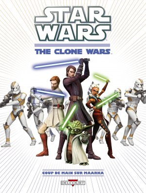 Star Wars - The Clone Wars édition TPB hardcover (cartonnée)