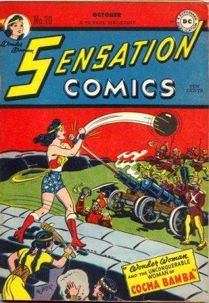 Sensation (Mystery) Comics # 70 Issues (1942 à 1953)