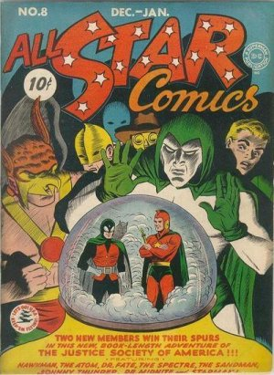 All-Star Comics # 8 Issues V1 (1940 - 1978)
