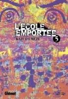 couverture, jaquette L'école emportée 5  (Glénat Manga) Manga