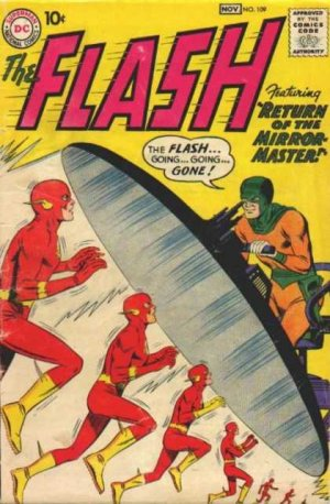 Flash # 109 Issues V1 (1959 - 1985)