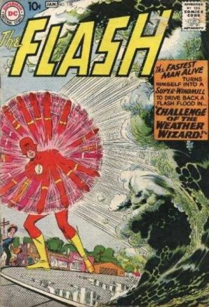 Flash 110 - The Challenge of the Weather Wizard!