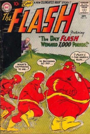 Flash 115 - The Day The Flash Weighed 1000 Pounds!