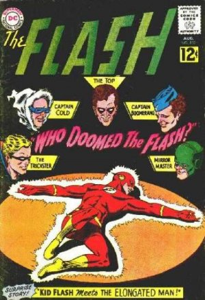 Flash 130 - Who Doomed The Flash!
