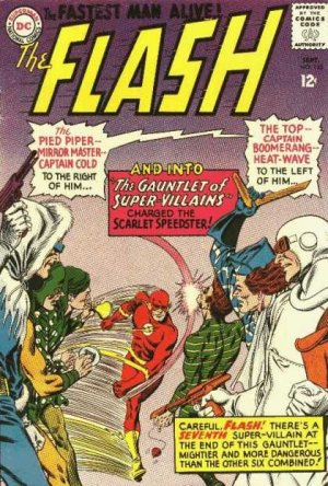 Flash # 155 Issues V1 (1959 - 1985)