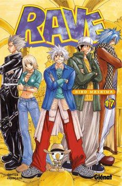 couverture, jaquette Rave 17  (Glénat Manga)