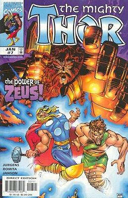 Thor # 7 Issues V2 (1998 à 2004)