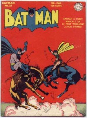 Batman 21 - The Streamlined Rustlers!