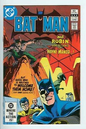 Batman # 348 Issues V1 (1940 - 2011)