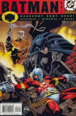 Batman - Meurtrier et Fugitif # 607 Issues V1 (1940 - 2011)
