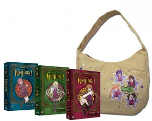 Negima, le Maître Magicien édition COLLECTOR  -  VO/VF