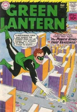 Green Lantern 5 - The Power Ring That Vanished!