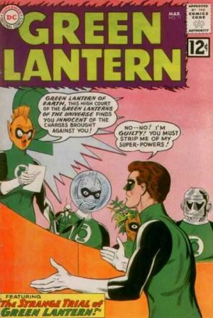 Green Lantern 11 - The Strange Trial of Green Lantern!