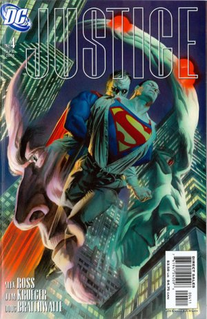 JLA - Justice # 4 Issues (2005 - 2007)