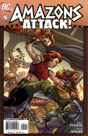 Wonder Woman - Amazons Attack # 5 Issues
