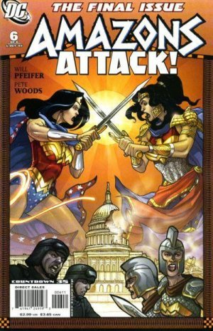 Wonder Woman - Amazons Attack # 6 Issues