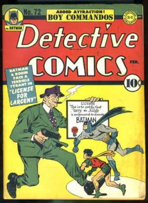 Batman - Detective Comics # 72 Issues V1 (1937 - 2011)