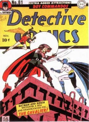 Batman - Detective Comics 81 - The Cavalier Of Crime!