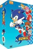 couverture, jaquette Sonic X 1 SIMPLE  -  VF 2 (Déclic images)