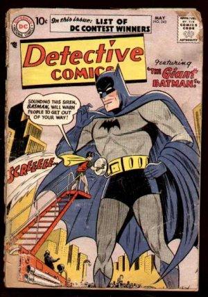 Batman - Detective Comics # 243