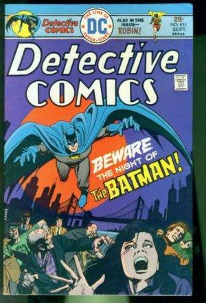 Batman - Detective Comics # 451