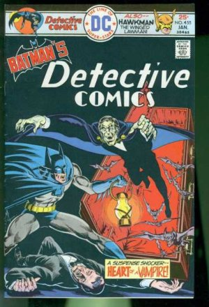Batman - Detective Comics # 455