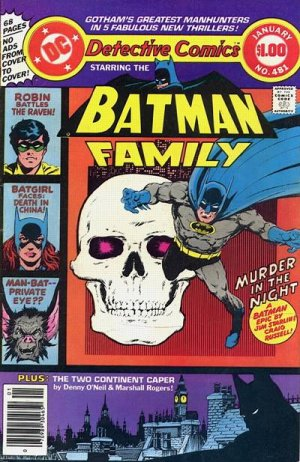 Batman - Detective Comics # 481 Issues V1 (1937 - 2011)
