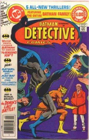 Batman - Detective Comics # 485